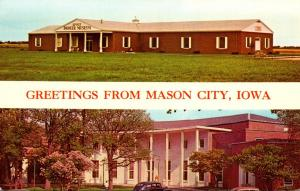 Kinney Pioneer Museum & Public Library Greetings From Mason City Iowa