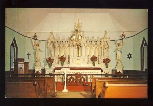Jefferson, New Hampshire/NH Postcard, Church Of All Faiths, Santa's Village