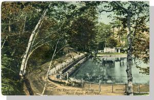 Montreal, Quebec, Canada Postcard, Reservoir/Mount Royal