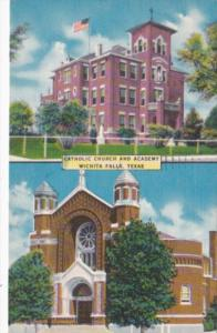 Church Catholic Church and Academy Wichita Falls Texas 1957