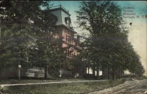 Massena Springs NY Hatfield House c1910 Postcard