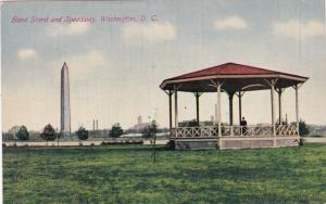 WASHINGTON, D.C., 1900-10; Band Stand and Speedway