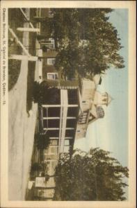Chateau Bellevue St. Gabriel de Brandon Quebec Postcard