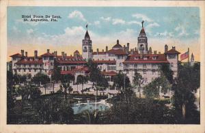 Hotel Ponce De Leon, St. Augustine, Florida, 1910-1920s