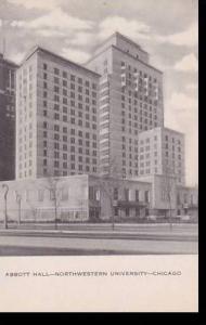 Illinois Chicago Northwestern University Abbott Hall Artvue