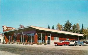 Autos 1950s Hermansville Michigan Wildwood Truck Stop Restaurant 5718