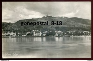 dc1665 - AUSTRIA Maria Taferl 1933 Panorama. Real Photo Postcard