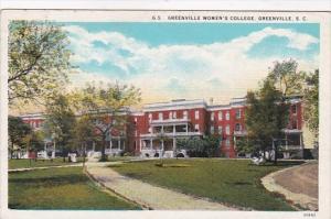 South Carolina Greenville Women's College Curteich