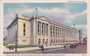 United States Post Office Court House And Custom Houswe Louisville Kentucky