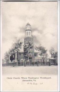 Christ Church, where Washington Worshipped, Alexandria VA