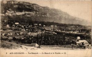 CPA AIX-les-BAINS - Vue générale - Le Revard et le Nivolet (352381)