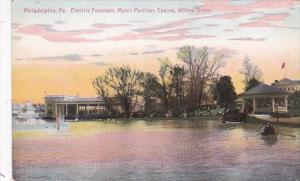 Pennsylvania Philadelphia Electric Fountain Music Pavilion & Casino In Willow...