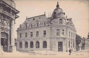 France Langres La Caisse d'Epargne