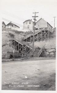 RP: FLIN FLON , Manitoba , Canada , 1900-10s ; Hill Street