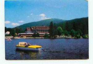Titiseehotel Boat Hotel Germany