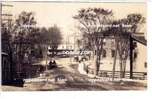 RPPC, Street Scene, PM Sandy Creek NY
