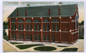 Auditorium Valparaiso University Indiana 1927 postcard