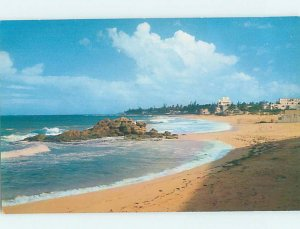 Pre-1980 WHITE SAND BEACH Published In Santurce - San Juan Puerto Rico PR AE9343