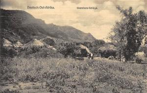 German East Africa, Tanzania, Deutsch-Ost-Afrika Usambara-Gebirge Mountains