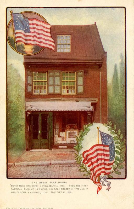PA - Philadelphia. Betsy Ross House
