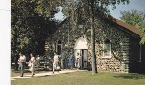 The rustic Chapel at Elim Lodge, R.R. 1, Peterborough, Ontario, Canada, 40-60s