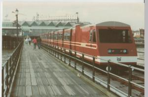 Essex; Southend On Sea, Inauguration Of New Pier Trains PPC, Unposted, Lynn Tait