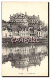 Postcard Old Amboise Chateau