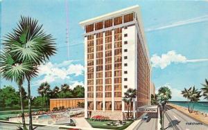 1965 Sheraton Hotel Fort Lauderdale Florida Schwarm Artist Impression 897