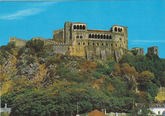 Portugal Leiria Castle and Palace Of Queen Saint Elizabeth