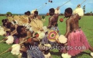 Fiji, Fijian Meke Wesi, Spear Dance  Meke Wesi, Spear Dance