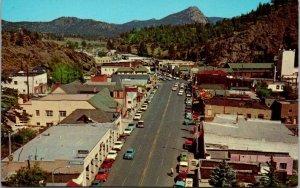 Postcard CO Colorado Estes Park Elkhorn Avenue Rocky Mountain Unposted