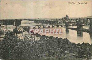 Postcard Old Tours Vue Generale