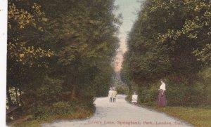 LONDON, Ontario , Canada , PU-1909; Lover's Lane , Springbank