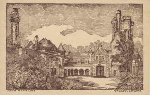 Stables Of Casa Loma ~ Toronto ON Vintage Postcard