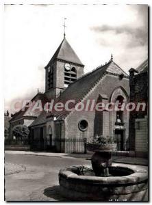 Modern Postcard La Ferte Gaucher (S & M) The Parish Church of Saint Romain (t...