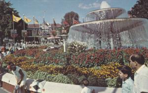Princess Margaret Fountain, in the middle of the Canadian National Exhibition...