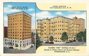 Hotel Grafton 1139 Connecticut Ave. N.W Washington DC Linen