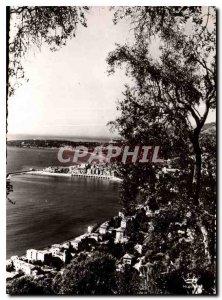 Postcard General view Moderne Menton and Cap Martin