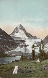BANFF, Alberta, Canada, PU-1907 ; Mt. Assiniboine & Camp