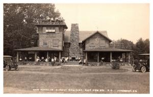 New Hampshire  Peterboro , Bargent Girls Camp ,  Main Bungalow ,  RPC