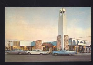 SCOTTSDALE ARIZONA MCGEE'S INDIAN MUSEUM 1960's CARS VINTAGE POSTCARD
