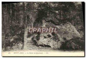 Postcard Old Mount Treble The Rock of Quasimodo