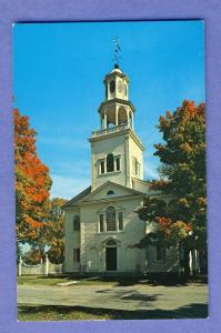 Old Bennington, Vermont/VT Postcard, Old First Church #3