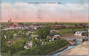 Sioux City, Iowa-Grand Avenue Viaduct - 1945