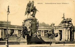 Germany - Berlin. National Monument of Kaiser Wilhelms I