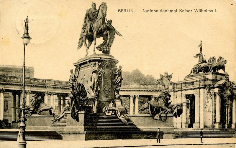 Germany - Berlin. National Monument of Kaiser Wilhelms I