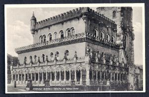 Palace Hotel Closeup Bussaco Portugal RPPC unused c1920's