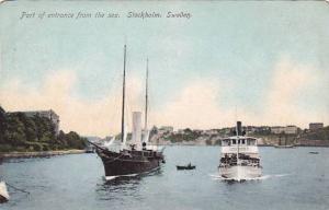 Entrance from Sea , Stockholm , Sweden , 00-10s
