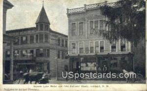 Squam Lake Hotel & Odd Fellow's Block Ashland NH Unused