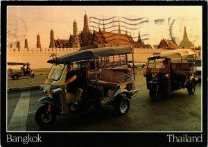 CPM AK THAILAND Motorized tricycles, TUK TUK. Bangkok, Thailand (345740)